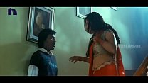Lakshmi Rai In Red Saree Lawrence And Lakshmi Rai Romantic Kanchana Movie Scenes Thumbnail