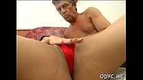 Young non-professional babe sucks and fucks an mature guy passionately