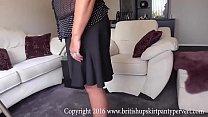 The British Upskirt Panty Pervert visits Auntie Maureen