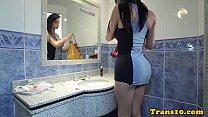 Sensual latina tgirl pounded Thumbnail