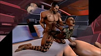 Mass Effect - Jack and Shepard Romance - Compil... Thumbnail
