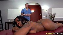 Download video bokep BBW Ebony Ms London Gets Fucked Hard After Massage 3gp terbaru