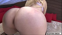 Vanessa gets pounded by her boyfriend with a me...