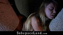 Lustful blonde inspires Master to dark kinky bd... Thumbnail
