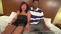 Hot Mom with Bubble Butt Does First Scene in Milf Interracial Video