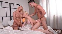 Busty Bombshells Chessie Kay & Kyra Hot nail a ...