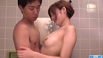 Mind blowing shower sex scenes with Yumi Maeda