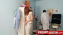 Gorgeous euro redhead babe Denisa Heaven at dirty pussy doctor Thumbnail