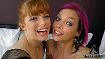 Hottest Threesome with Busty Beauties Anna Bell...