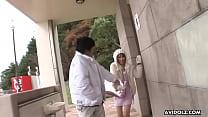 Hot Japanese brunette, Sae Sakamoto is a frisky...