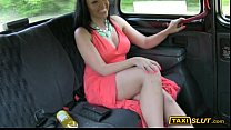 Busty amateur Rio fucked with a driver