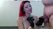 Mistress Severa whips in pantyhose and heels Thumbnail