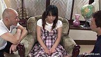 Asian schoolgirl Toyed hard