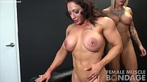 Duchess Dani masturbates Brandimaes pussy