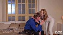 Incredible hot & kinky wife Victoria Daniels ge...