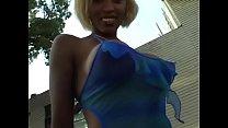Ebony whore gets boned