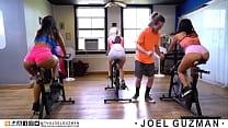 Joel Guzman Folla Con Alicia Fournes en Pleno E...