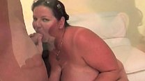 BBW Has Her Big Body Pulverised