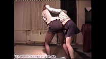Miniskirt and Pantyhose Catfight Doris vs Marei... Thumbnail