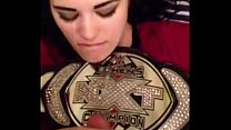 WWE diva Paige cumshot video