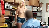 Teen shoplifter creamed Thumbnail