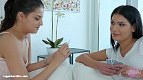 Cards well played lesbian scene with Annie Wolf...
