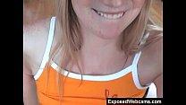 Cute Blonde Gloria Shows It All On Webcam