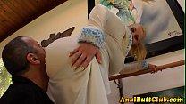 Kinky ho sits her bigass