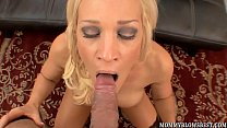 Naughty wife Ava Delane showing off blowjob skills