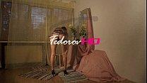 Fedorov russian skinny teen Alisa long hair cute girl
