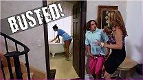 BANGBROS - Stepmom Julia Ann Threesome & Latina...