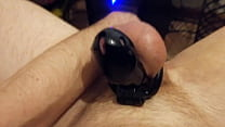 Anal orgasm in chastity