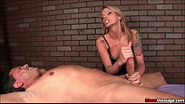 Femdom Masseuse Ruins The Fuck Out Of A Hung St...