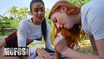 Share My BF - (Arietta Adams, Katana Kombat) - The Great Outdoor Threesome - MOFOS