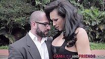 Gabriela Ferrari Gets Her Ass Ravished by a Stud