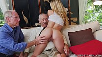 Young Molly Earns Her Keep by Fucking Old Guys ... Thumbnail