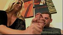 Super MILF Jordan Kingsley fills up on Whitezilla! Thumbnail