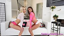 SWALLOWED Putting Jade Reign and Sky Pierce thr...
