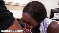 BANGBROS - Big Tits Ebony Bank Teller Vickie Starxxx Gets Fucked