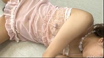 Mahiru Tsubaki plays with soap and her perfect ...