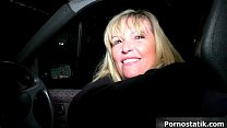 Horny mature mom in sexy lingerie goes