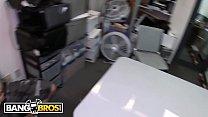 BANGBROS - Big Booty Latina Rose Monroe Fucked Hardcore On Backroom Facials!
