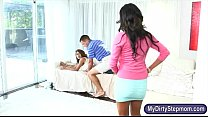 Bianka and Sarai crazy threesome session with n... Thumbnail