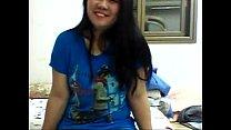 เธอน่ารักมากสาวเอเชียบ้านๆหุ่นอวบกำลังน่าฟัดมาแก้ผ้าวิดีโอคอลขายวิวเสียวคลิปหี