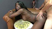 Kay Love Busts Balls And Gets Tight Ebony Pussy...