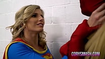 Cory Chase in Super Gurl vs Lady Deadpool