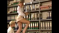 short dress girl get fucked in the library xemp... Thumbnail