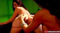 Jayden James and Capri Cavalli Licking Pussy Thumbnail