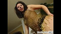 Ass Traffic Exotic brunette uses toys in her bu...