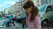 Casual Teen Sex - Teeny Elly Justin wanted to g...
